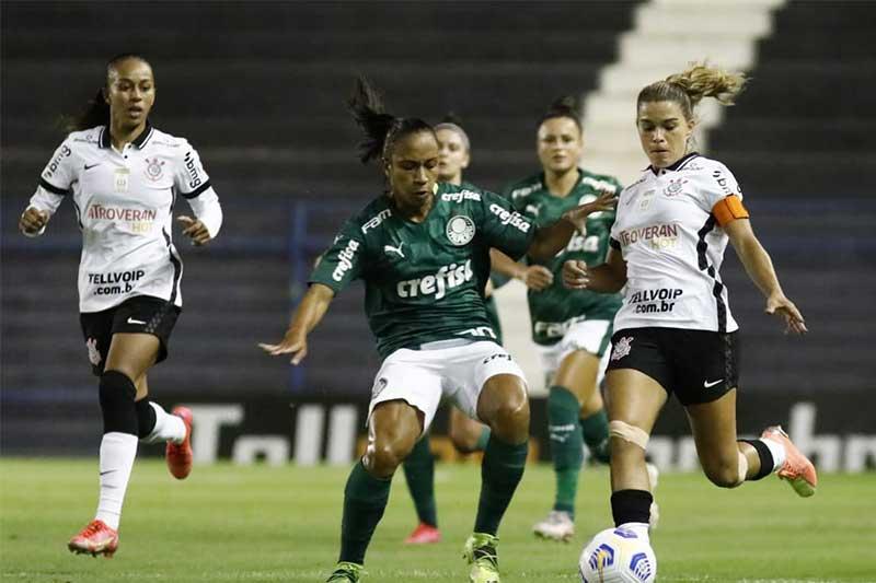 Corinthians e Palmeiras decidem BBrasileirão Feminino (Foto: Twitter/Corinthians/Futebol Feminino)