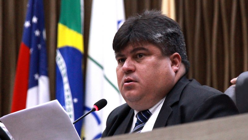 Presidente da Câmara Municipal de Manaus, Vereador David Reis, do Avante (Foto: Robervaldo Rocha/CMM)