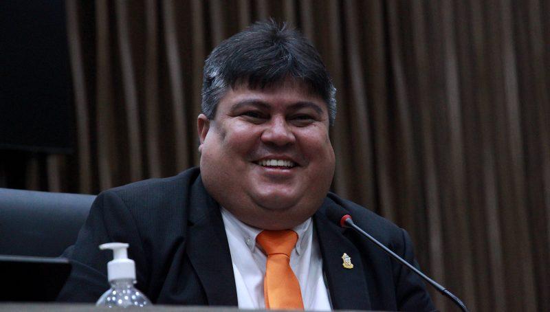 Presidente da CMM, David Reis, do Avante (Foto: Robervaldo Rocha/CMM)