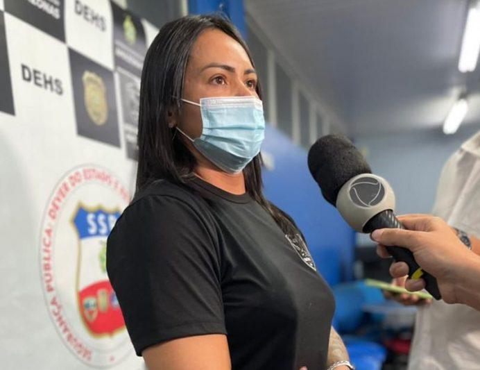 Delegada Marna de Miranda disse que rapaz levou corpo de adolescente para casa (Foto: PC-AM/Divulgação)