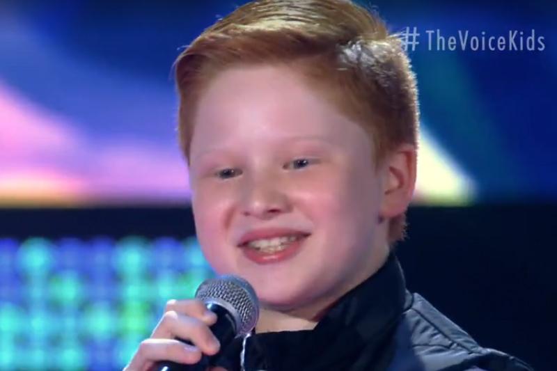 Gustavo Bardim ~e o campeão do The Voice Kids (Foto: Gshow/Reprodução)