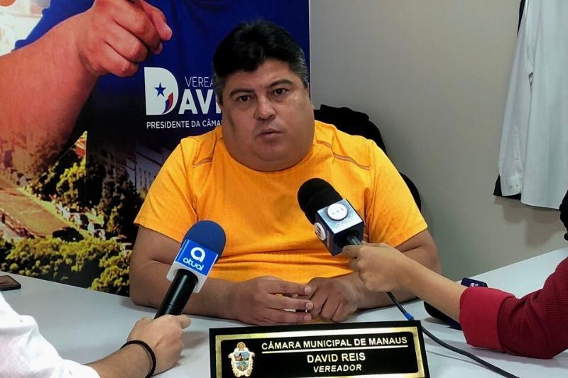 """Em entrevista ao ATUAL, presidente da câmara David Reis disse que medida é """"estrutural"""" (Foto: Murilo Rodrigues/ATUAL)"""