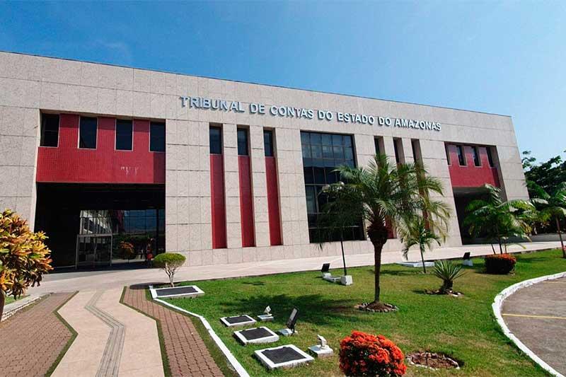 Sede do TCE: sai resultado final de concurso (Foto: TCE-AM/Divulgação)