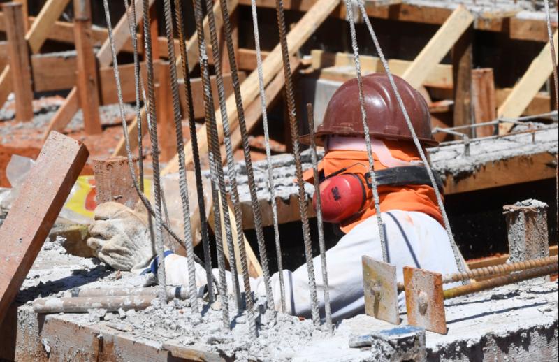 Canteiro de obras - construção civil - Foto: CNI/Divulgação