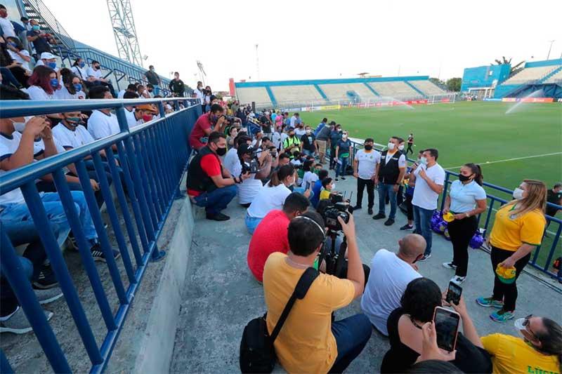 Treino da seleção brasileira de futebol