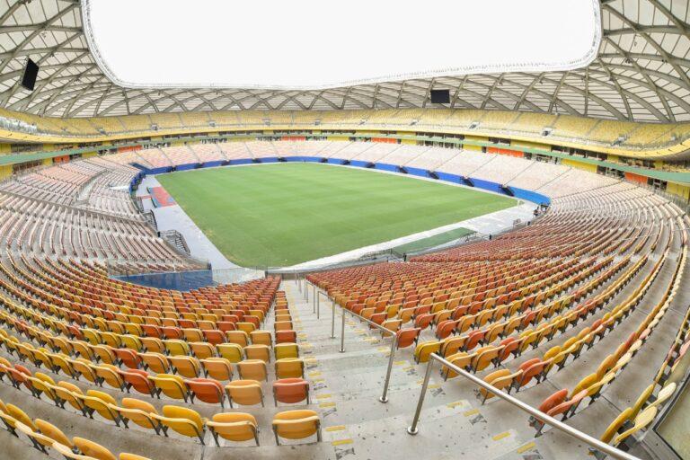 Arena da Amazônia vai ser palco de Brasil x Uruguai neste dia 14 de outubro (Foto: Mauro Neto/Faar)