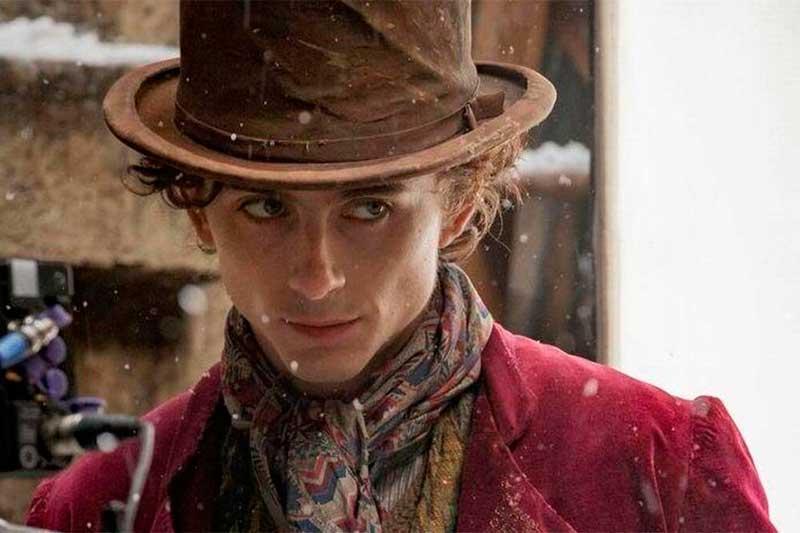 Ator Timothée Chalamet como Willy Wonka: nova versão do personagem (Foto: Timothée Chalamet/Instagram/Divulgação)