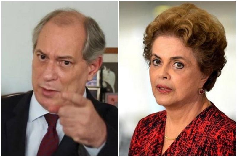 Ciro Gomes e Dilma Rousseff bateram boca pelas redes sociais (Fotos: Facebook/Reprodução e Wilson Dias/ABr)