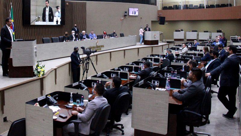 Plenário da CMM em 6 de outubro (Foto: Robervaldo Rocha/CMM)